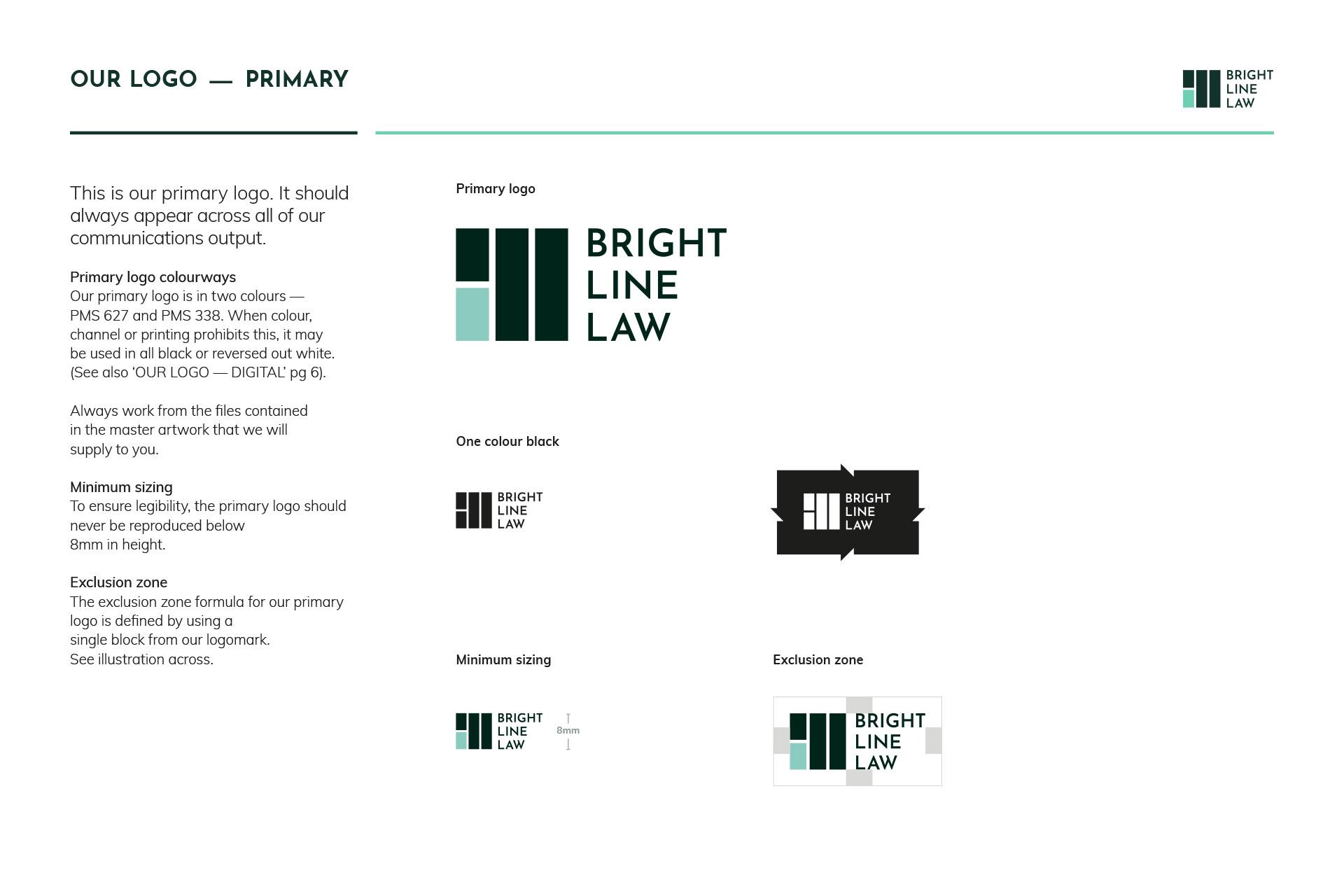 Bright Line Law