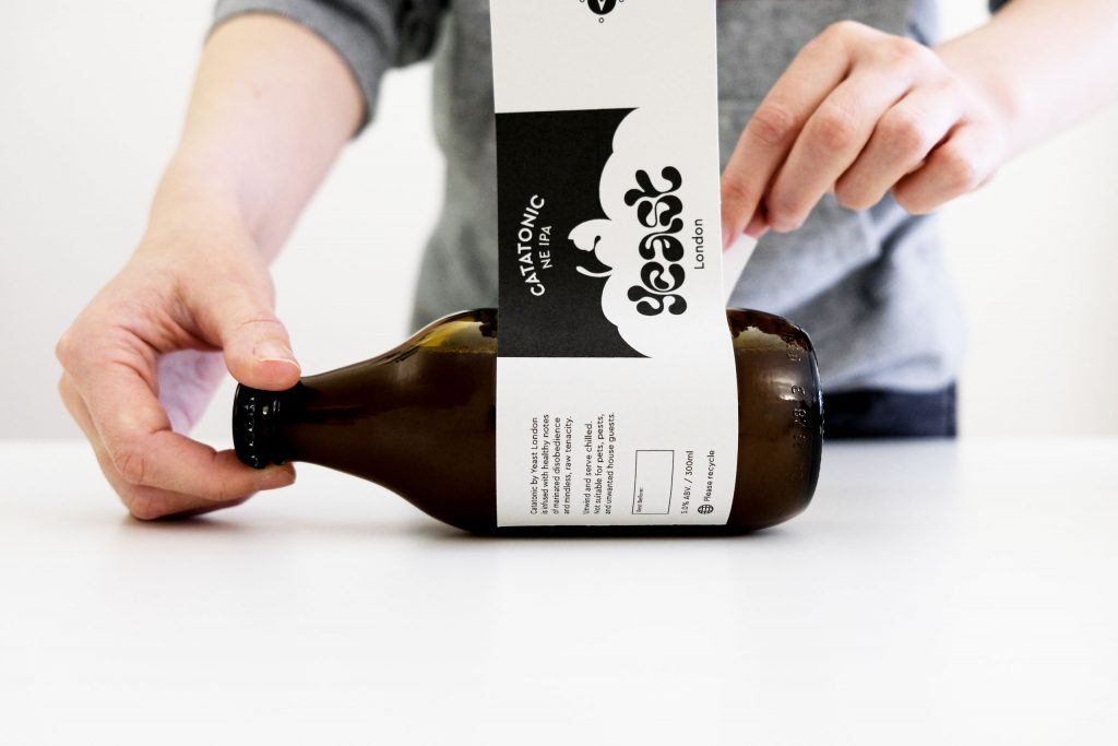Visual identity and branding for an east London nano-brewery project